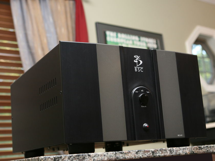 BSC Audio BSC-60 CLASS A POWER JUST SOUNDS RIGHT!