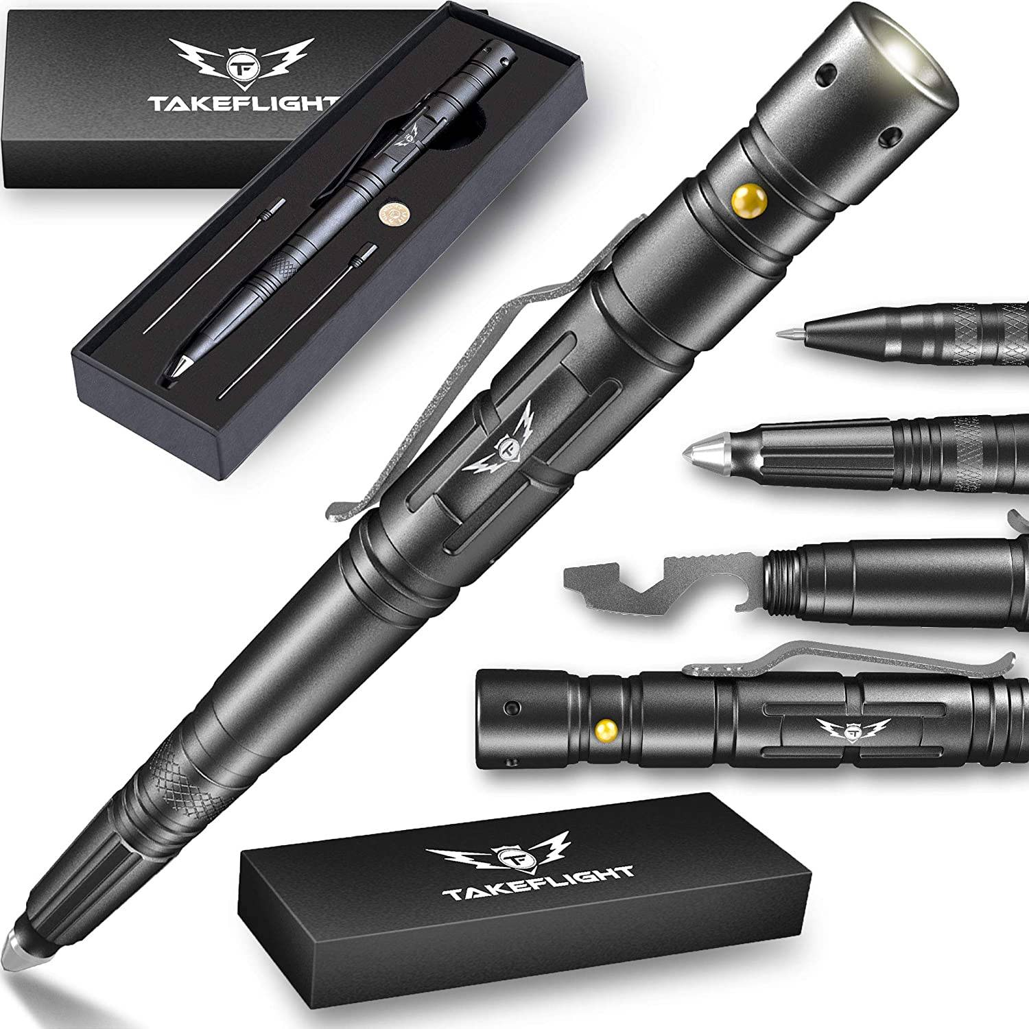 All-in-one tactical pen