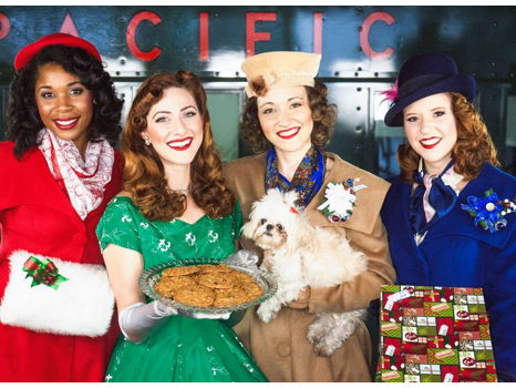2 tickets for the Victory Belles in Home for the Holidays
