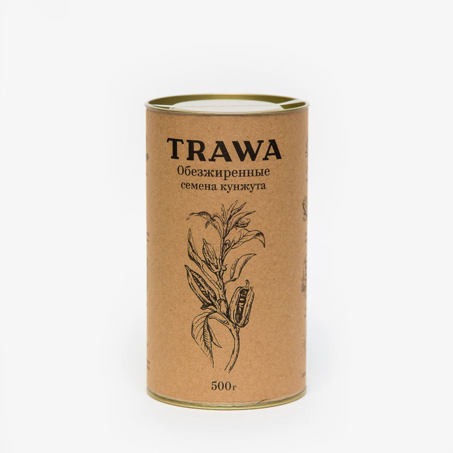 Обезжиренные семена кунжута TRAWA, 500 гр