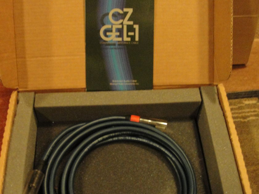 Madrigal  CZ Gel 1 1.5 Meter XLR Balanced audio cables
