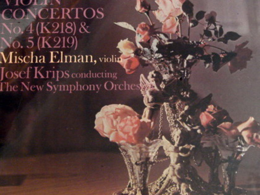 ★Sealed★ Everest / - MISCHA ELMAN-KRIPS, Mozart Violin Concertos No.4 & 5!