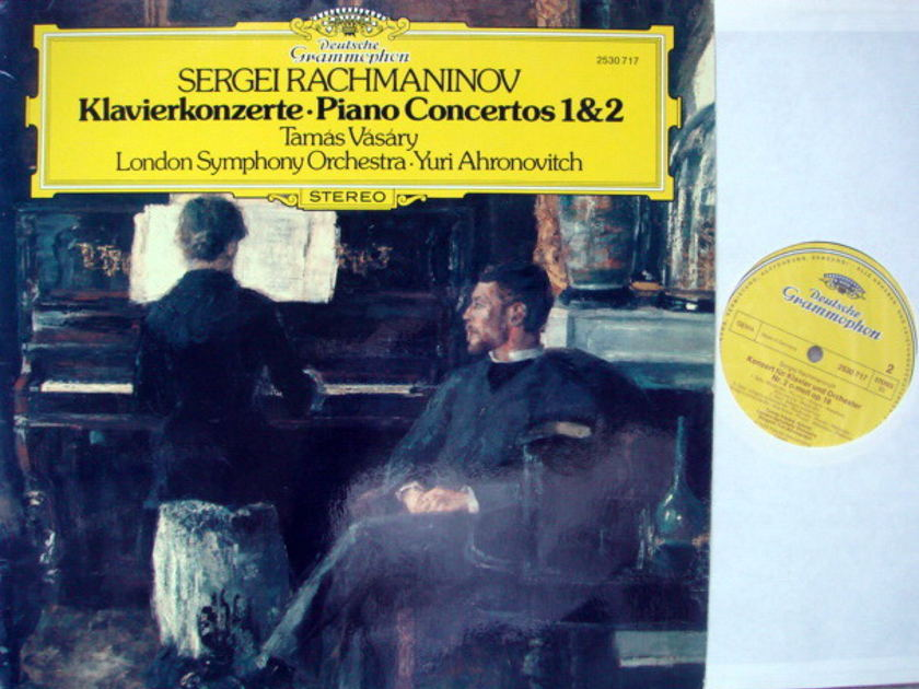 DG / Rachmaninoff Piano Concerto No.1 & 2, - VASARY/AHRONOVITCH/LSO, MINT!