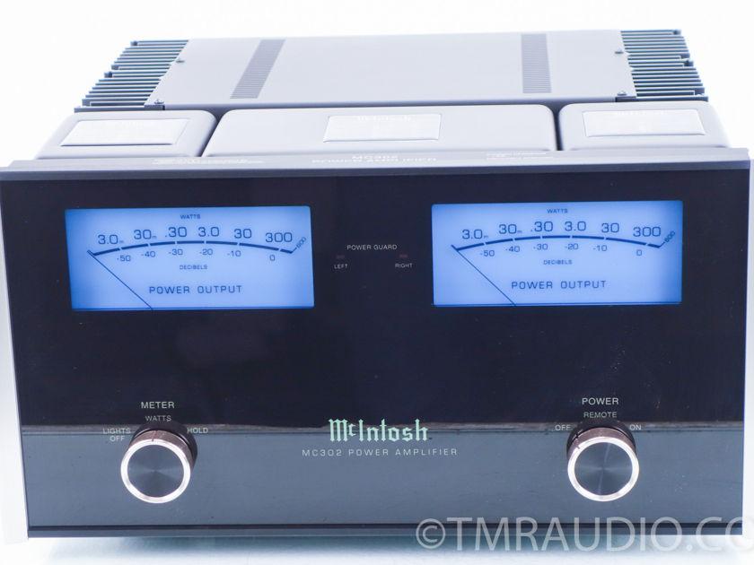 McIntosh  MC302  Stereo Power Amplifier (9829)