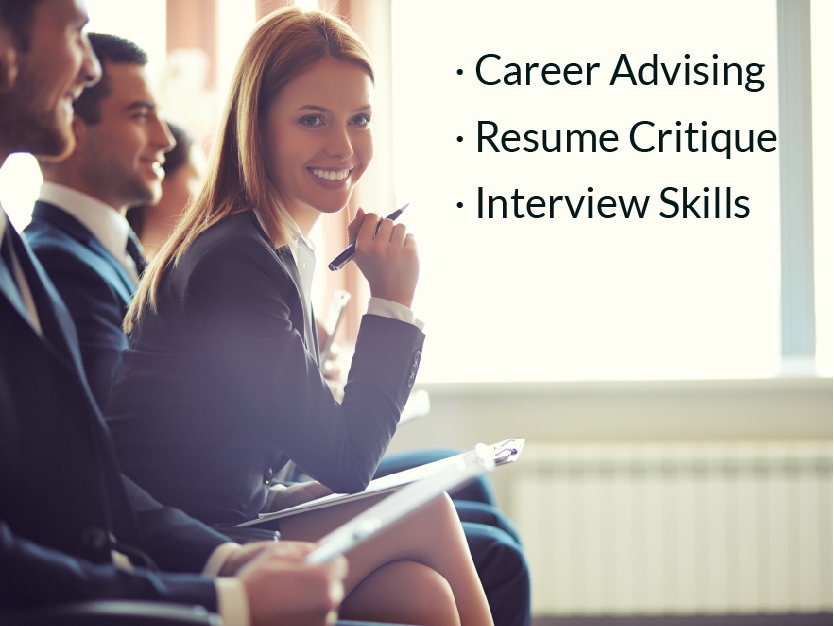 RENTERS BAY: Career Advising, Resume Critique, Interview Skills and more...