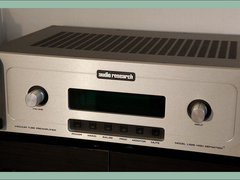 Audio Research LS-26 vacuum tube preamplifier