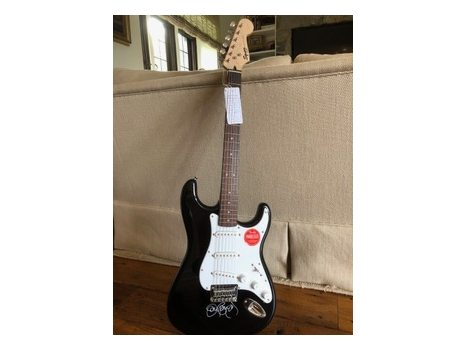 Autographed Jon Bon Jovi guitar