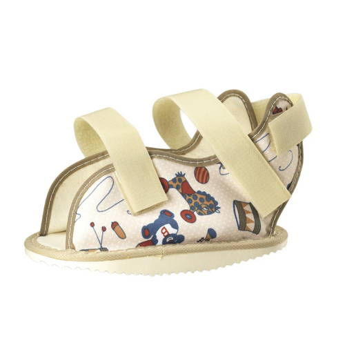 0323 / KIDSLINE CAST SHOE - PEDIATRIC PRINT