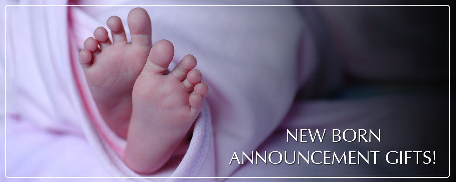 New born announcement messages