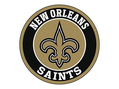 New Orleans Saints 2018 Lithograph Football and Russell Polo Shirt