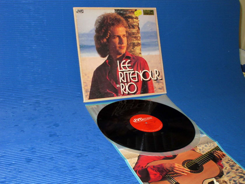 "LEE RITENOUR - - ""Rio"" -  JVC 1979 Import w/poster"