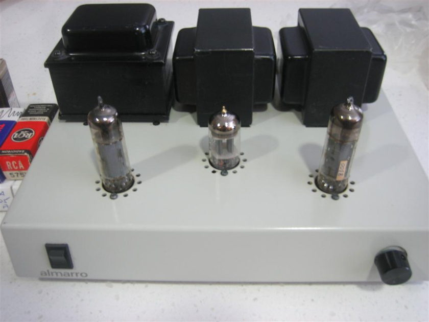 Almarro A205A MkII Excellent Single Ended Tube Integrated Amp + Many Tubes