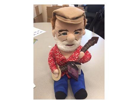 Pete Seeger Doll