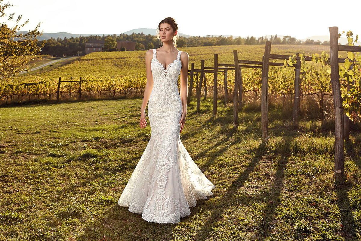 EDDY K WEDDING DRESS EK1203