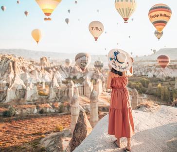Волшебное путешествие в Каппадокию (все входные билеты включены) из Алании