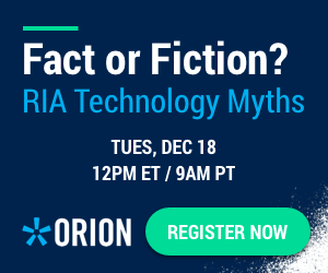 Orion RIA Technology Myths