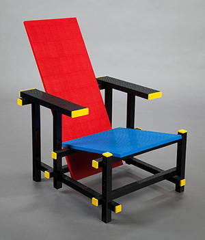 LEGO- inspired chairs