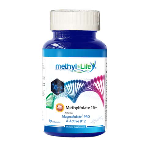 Methylfolate 15+ Magnafolate PRO & Active B12