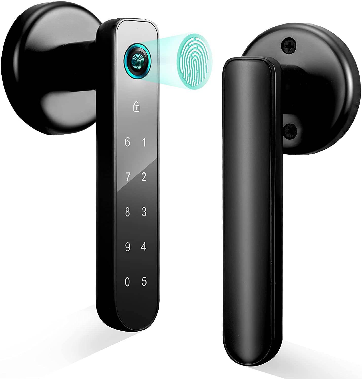 fingerprint door lock lock with fingerprint biometric door lock lockly secure pro biometric locks fingerprint door knob
