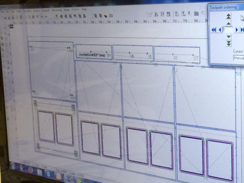"Core Audio Designs ""plyKRAFT"" 4L African Zebra Rigid high mass audio rack"