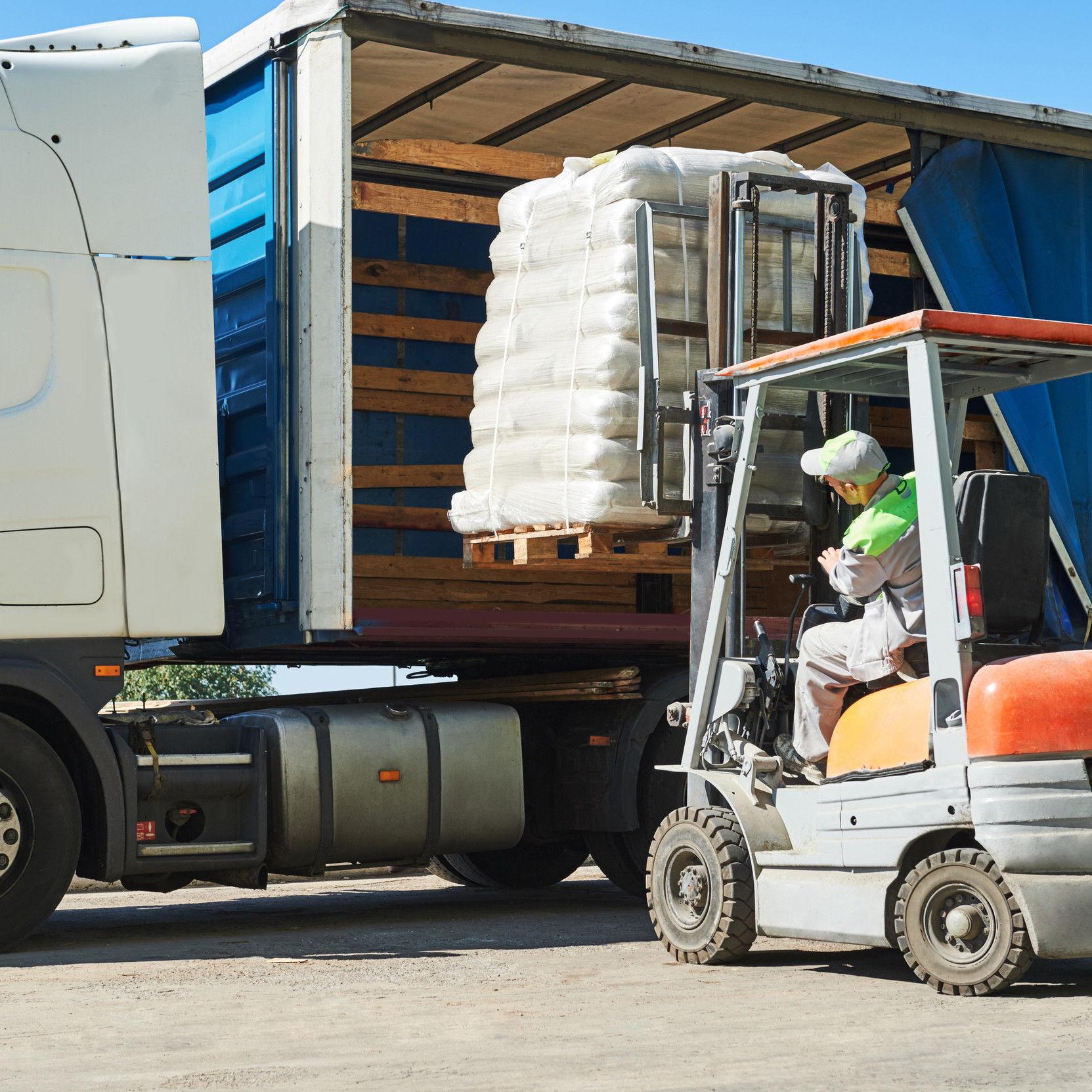 chargement camion semences