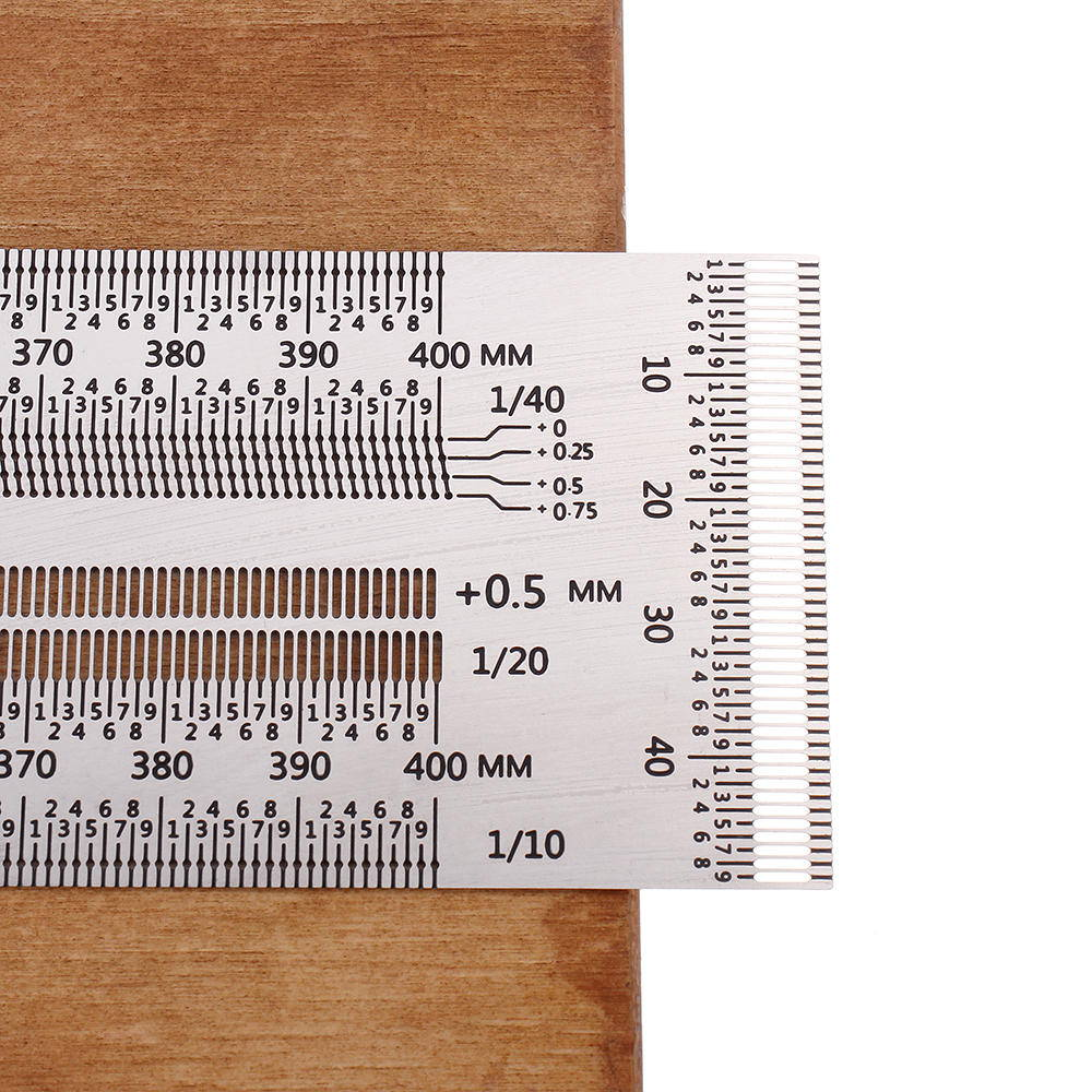 ruler with holes for precision