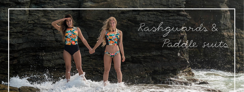 Shop our RASHGUARDS & PADDLE SUITS!