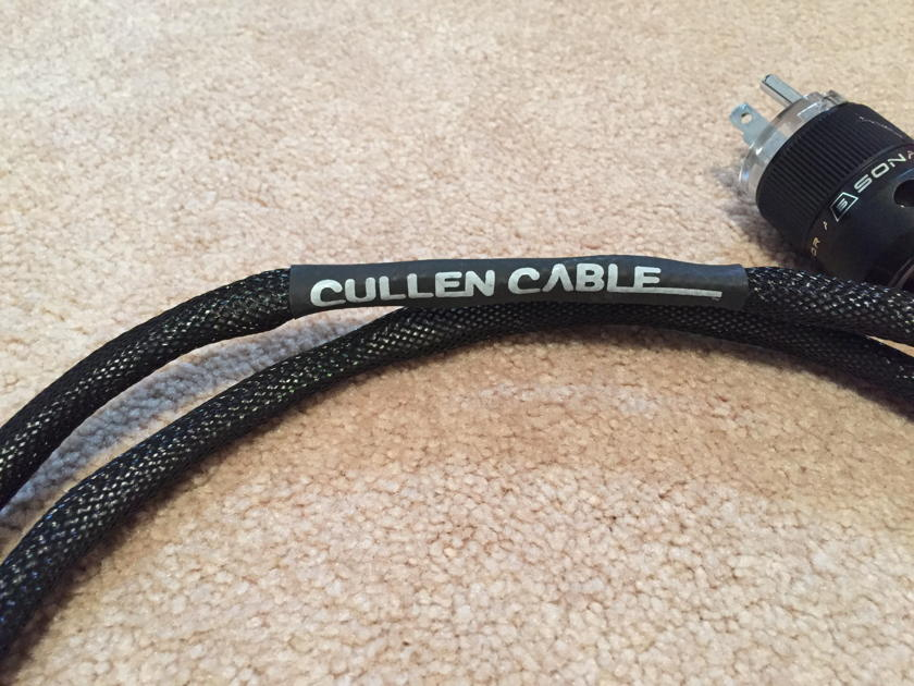 Cullen Cable Crossover Series Power Cord 6'
