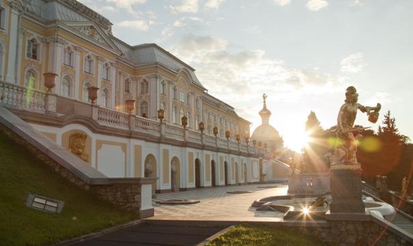 Петергоф: Большой Петергофский дворец и Гроты Большого каскада