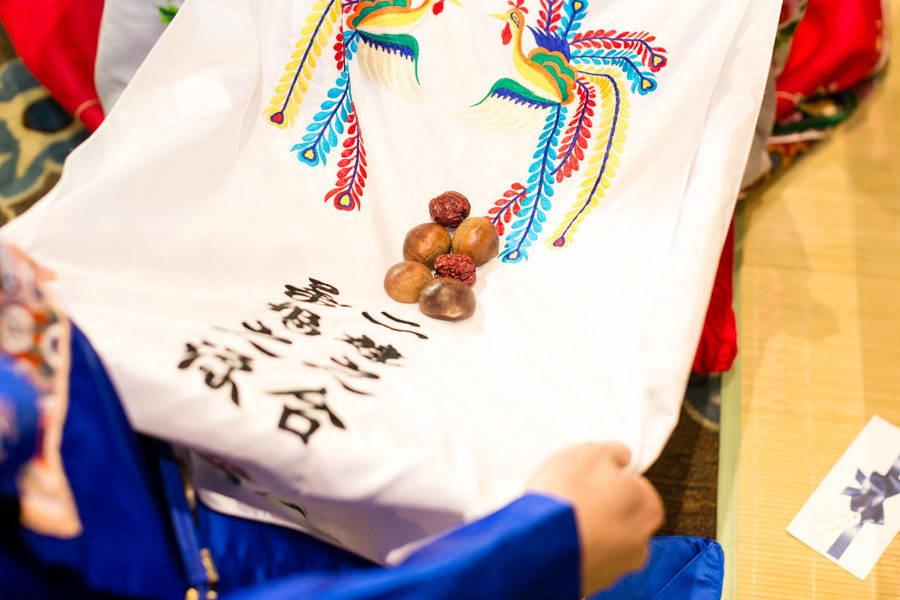 KOREAN TRADITIONAL PAEBAEK TEA CEREMONY CLOTH