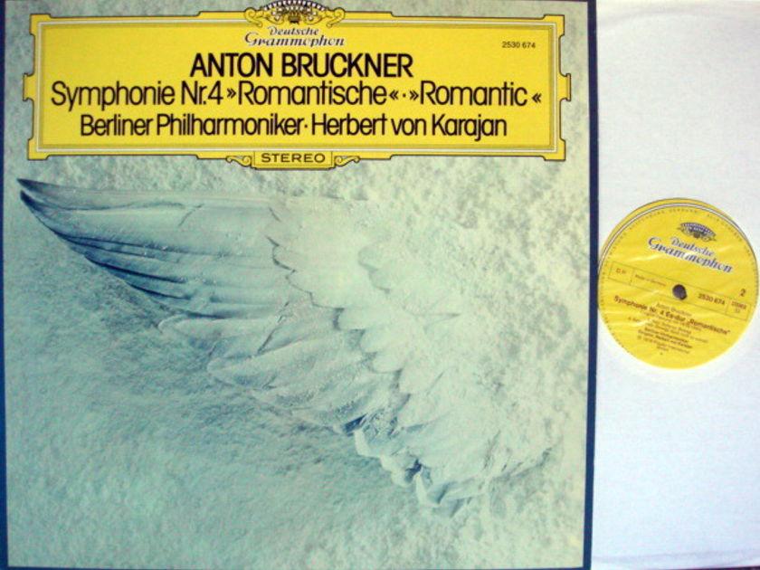 DG / KARAJAN-BPO, - Bruckner Symphony No.4 Romantic, MINT!