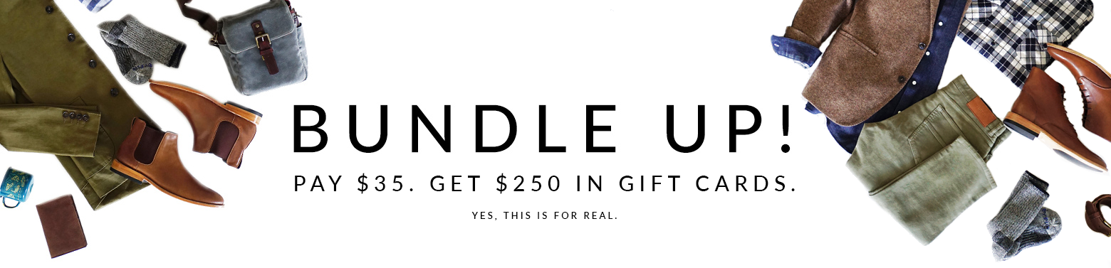 Nisolo Bundle Gift Card Deal