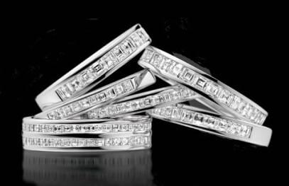 Eternity bands from Pobjoy Diamonds