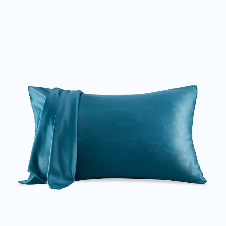 sleep zone bedding website store products collections pillow pillowcase satin pillowcase sooth teal