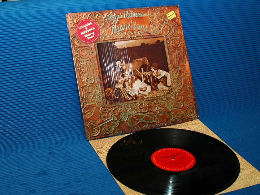 """LOGGINS AND MESSINA  - """"Native Sons"""" - CBS 1976 1st pressing"""