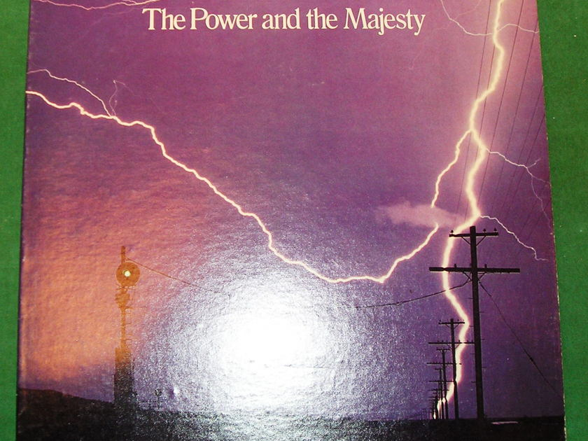 "BRAD MILLER  ""THE POWER AND THE MAJESTY"" - 1978 MOBILE FIDELITY MFSL 0004 *** NM  9/10 ***"