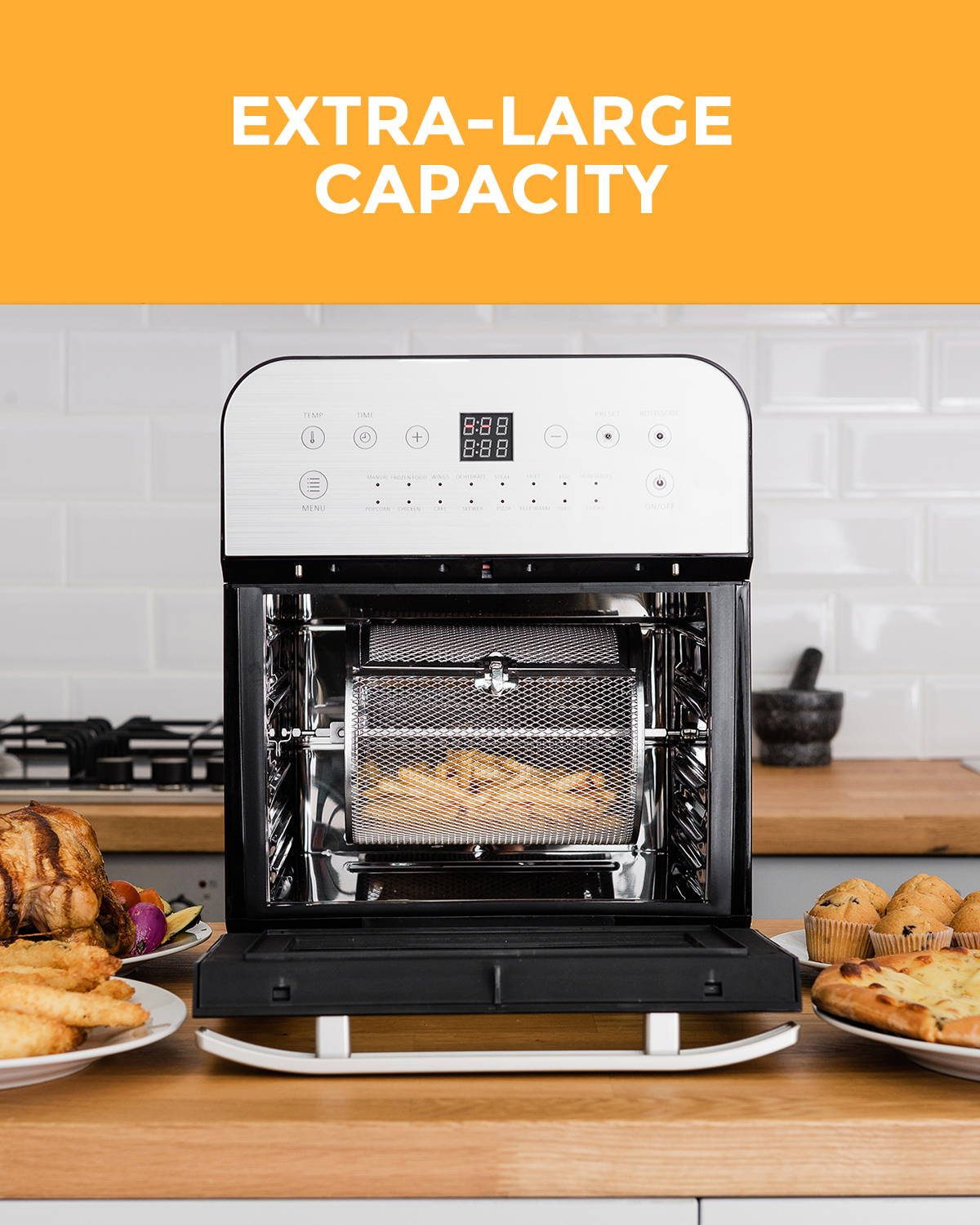 12L Digital Air Fryer Oven
