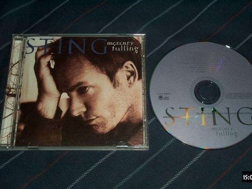 Sting - A & M France mercury falling
