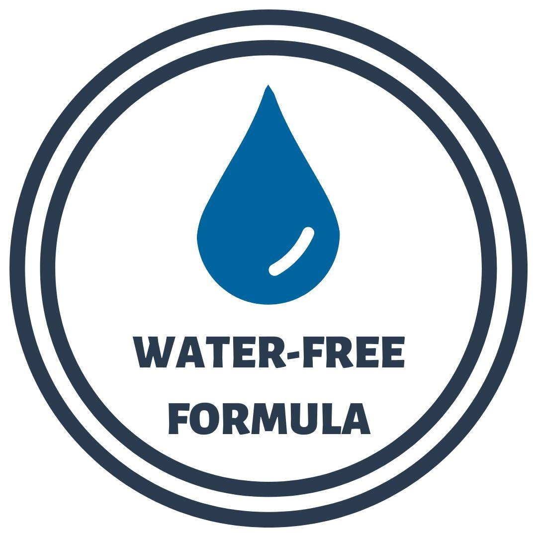 Water-free formula icon