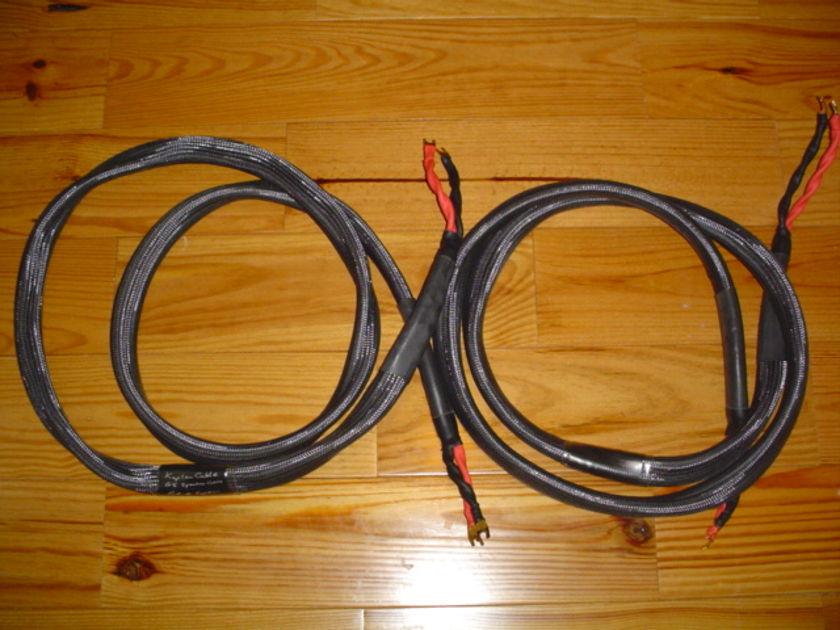 Kaplan Cables GS Speaker Cable 8 Ft pair Spades