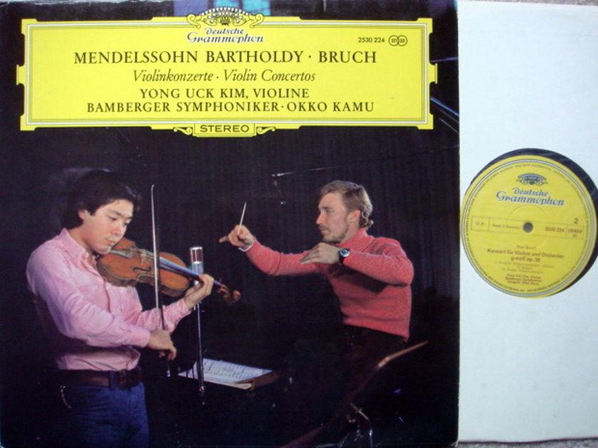 DG / YONG UCK KIM-KAMU, - Bruch-Mendelssohn Violin Concertos, NM!