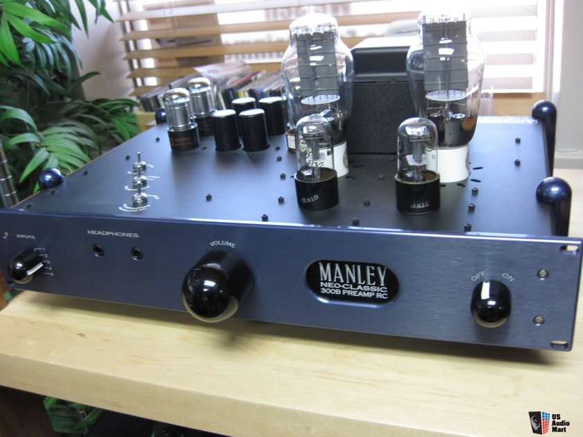 Manely Labs Neo-Classic 300B RC Preamp, Headphone Amplifier
