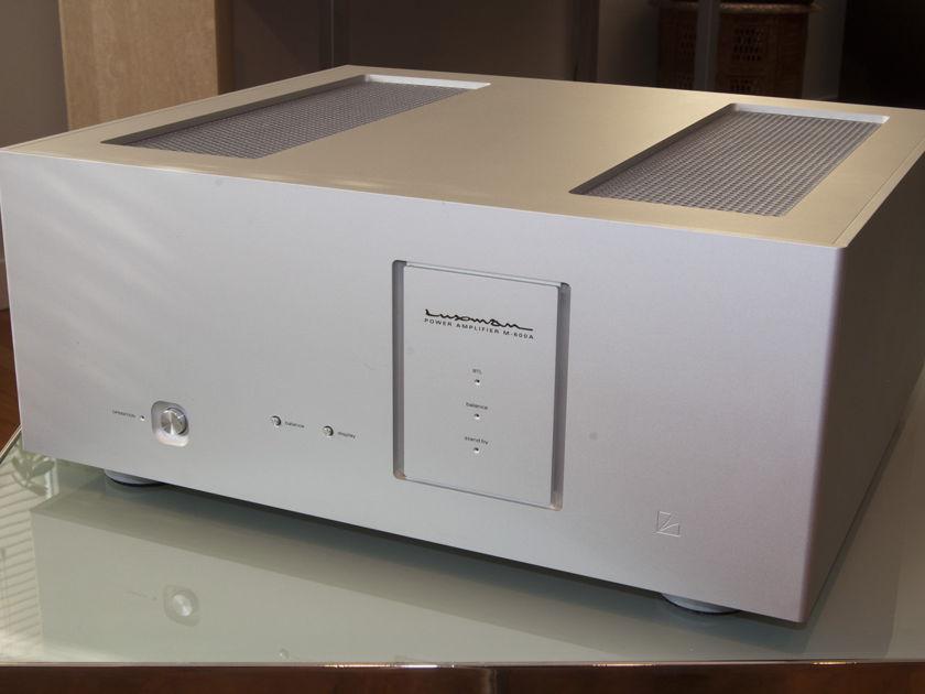 Luxman M-600A Class A Power Amplifier