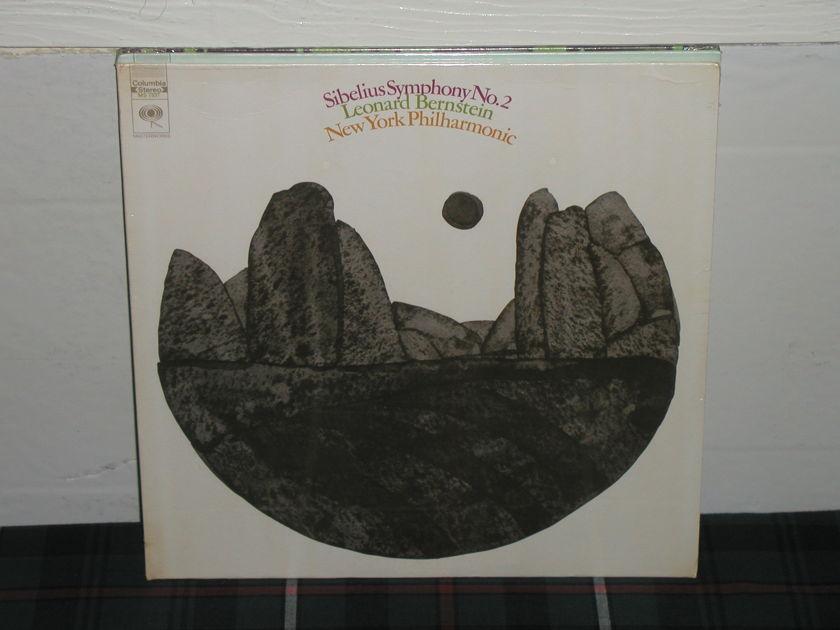 Bernstein/NYPO - Sibelius No.2 Columbia MS 7337.Still Sealed/NEW