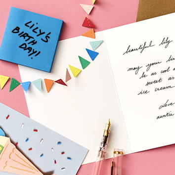 We Are Blotter's Card Concierge greeting card scheduling service