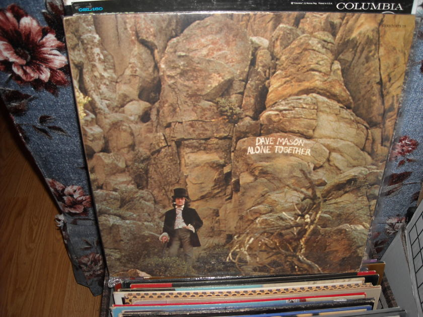 Dave Mason - Alone Together Blue Thumb LP (c)