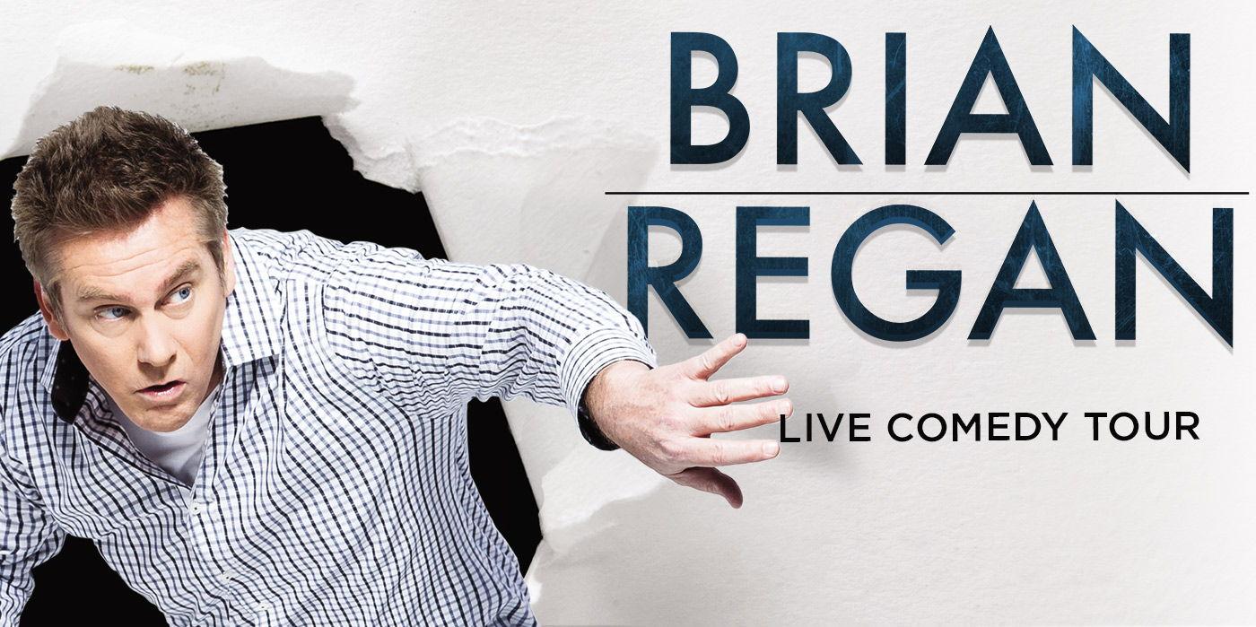Brian Regan at the Shubert Theatre