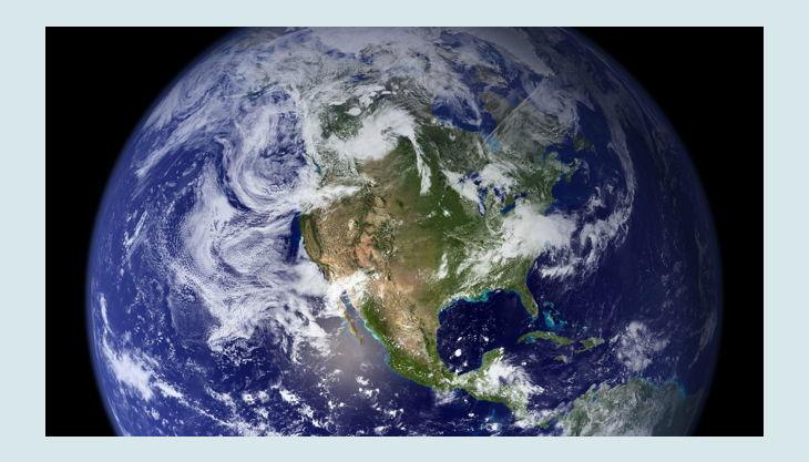 blick auf die erde earth pxb