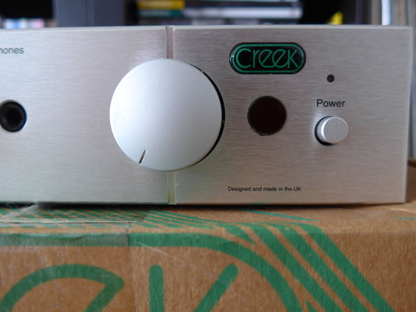 Creek 5350se creek 5350se integrated amplifier with phono stage