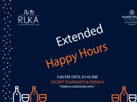 EXTENDED HAPPY HOUR image